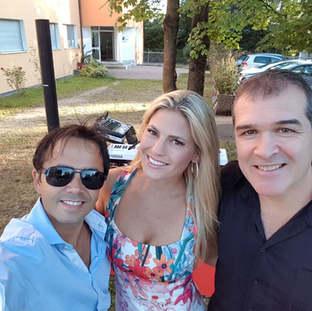 Sängerin Gisele Trio
