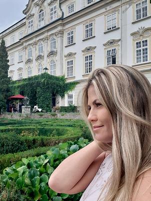 Saengerin Gisele, Schloss Leopoldskron Salzburg
