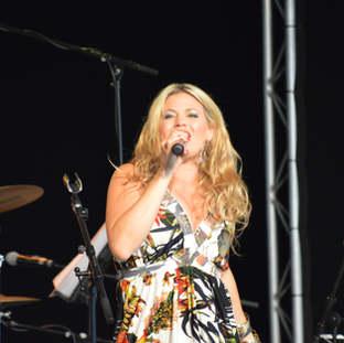 Sängerin Gisele