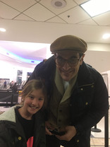 Nothing beats meeting Mr. Peabody, Ty Burrell!