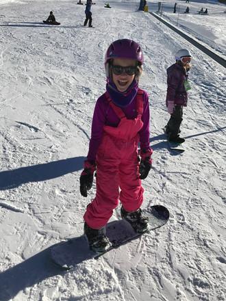 Snowboarding in Breckenridge