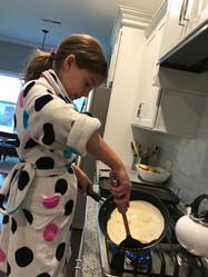 Love being in the kitchen!