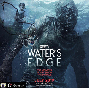 The Water's Edge poster for CryptTV!