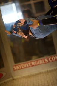 Indoor skydiving!