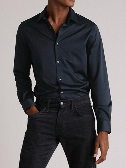 M&S by AUTOGRAPH Slim Fit Jersey Cotton Shirt T11/0724A
