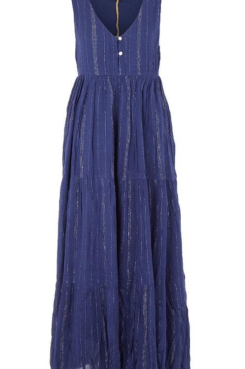 SAMSON Stripe Tier Maxi Dress