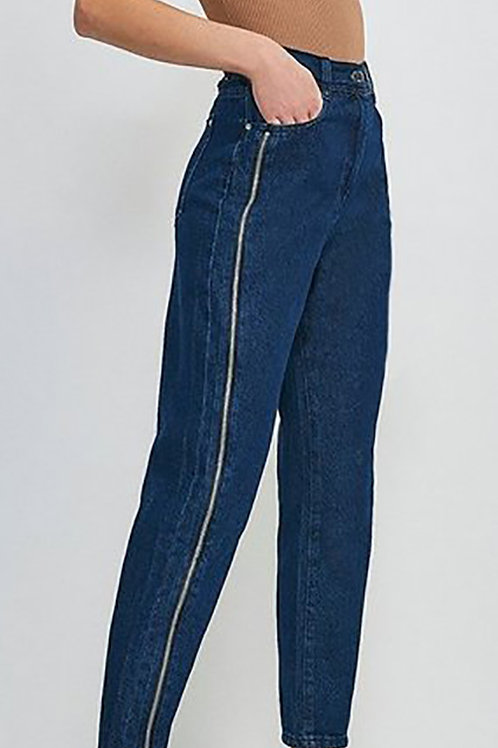 KAREN MILLEN Zip Side Slim Jean(RARE & COLLECTABLE)