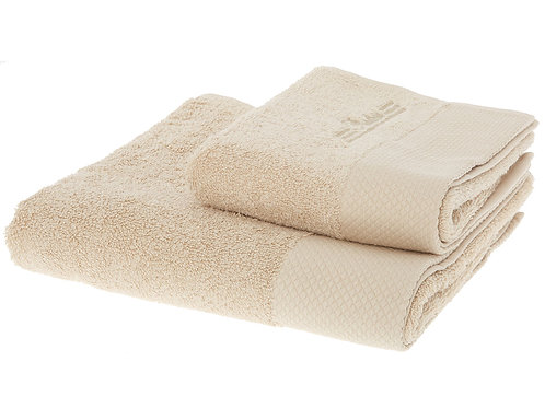 PRATESI ORANGE Two Piece Towels Set