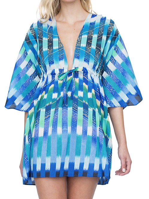 GOTTEX COLLECTION Highline V-Neck Beach Dress 19HI611 (RARE & COLLECTABLE)