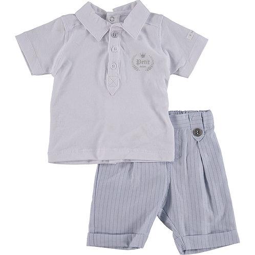 BERLINGOT Baby Two Piece Polo Shirt & Shorts Set (RARE & COLLECTABLE)