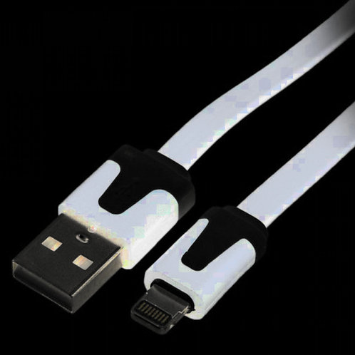SMART Accessories USB and 8 Pin Lightning Charge Flat Cable 1.0M
