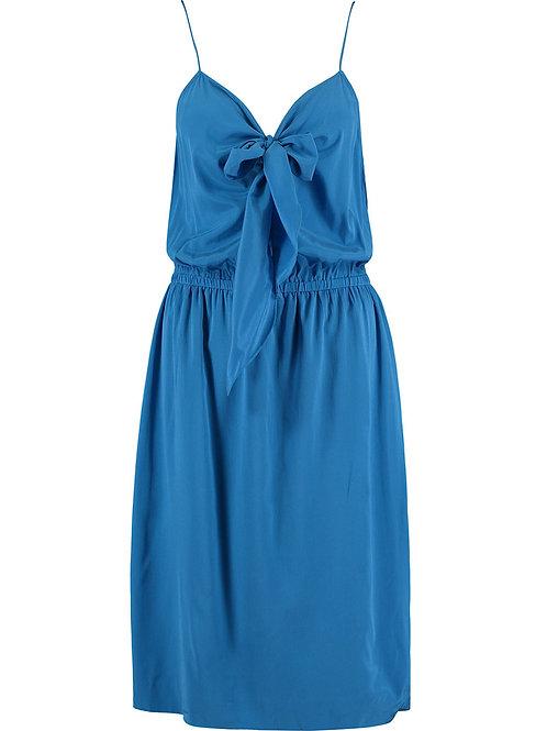 DKNY Blue Silk Dress (RARE & COLLECTABLE)