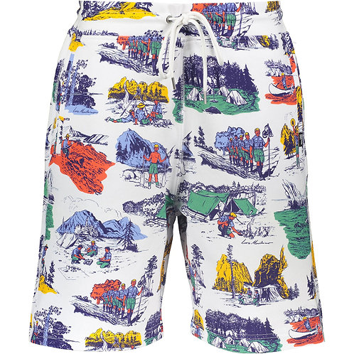 LOVE MOSCHINO Scouts Jogger Shorts (RARE & COLLECTABLE)