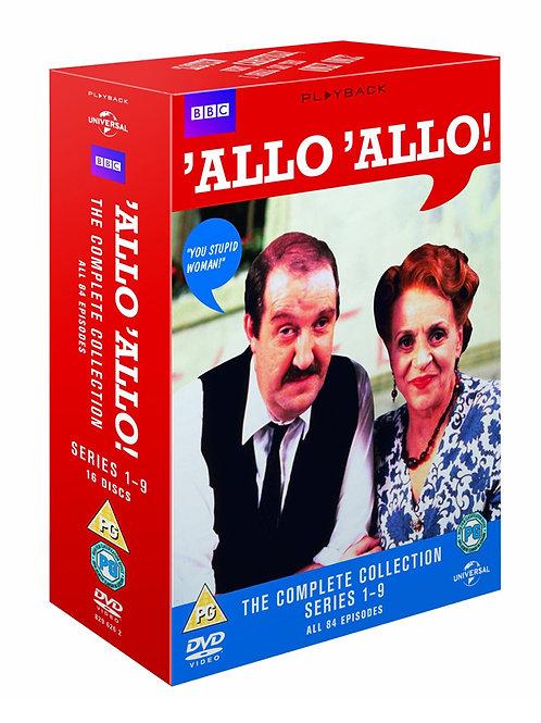Allo 'Allo Complete Boxset [DVD] [1982]