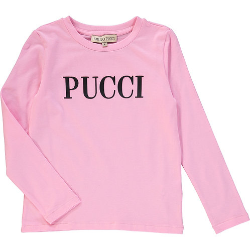 EMILIO PUCCI Long Sleeve Branded Top(RARE & COLLECTABLE)