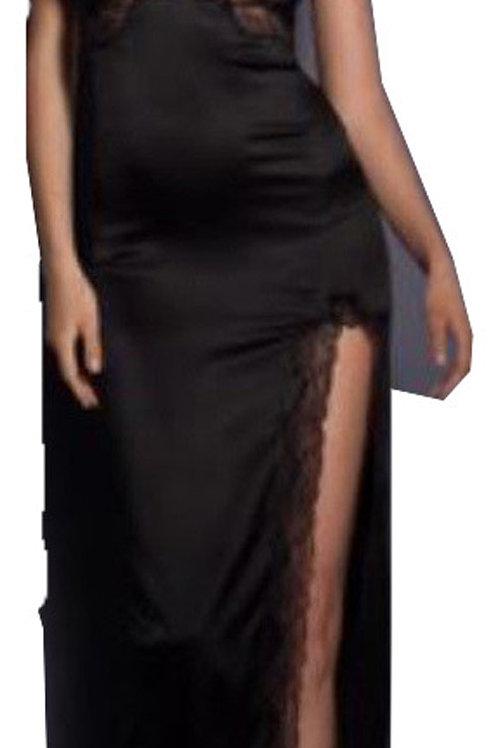 AGENT PROVOCATEUR Luna Long Silk Slip  (RARE & COLLECTABLE)