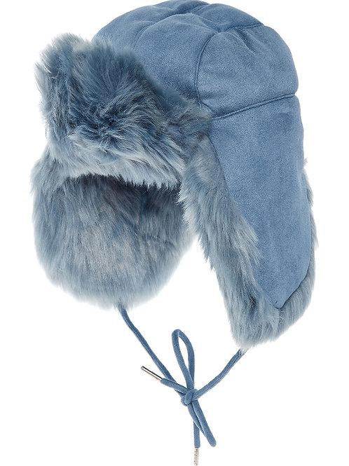 CHARLOTTE SIMONE Faux Fur Trapper Hat