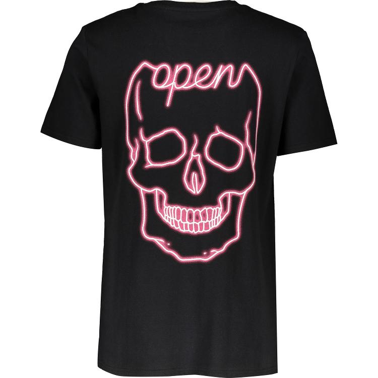 BOLONGARO TREVOR Black Skull Print T Shi