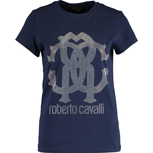 ROBERTO CAVALLI Embellished Donna T Shirt (RARE & COLLECTABLE)