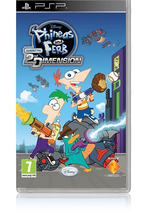 Phineas y Ferb - Across the 2nd Dimension - Spanish Import