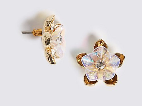MARKS & SPENCER COLLECTION Floral Cluster Stud Earrings