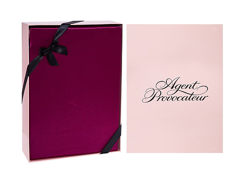 AGENT PROVOCATEUR Silk Glossy King Size Fitted Sheet (RARE & COLLECTABLE)