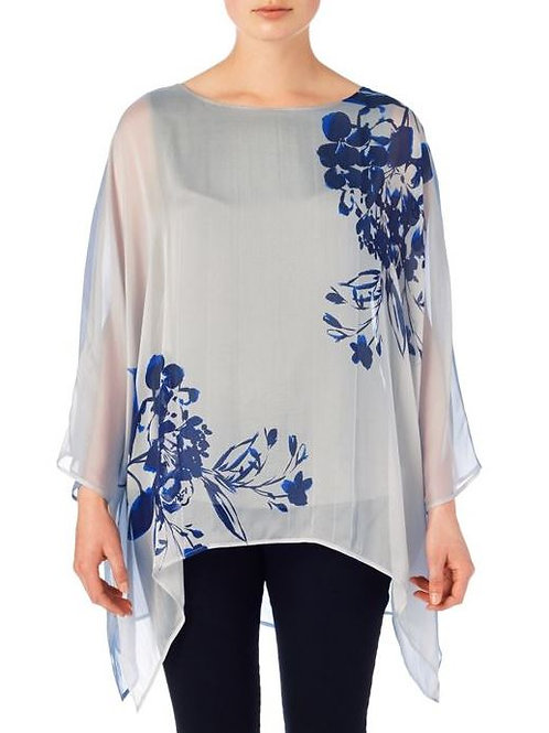 PHASE EIGHT Cordelia Silk Print Blouse (RARE & COLLECTABLE)