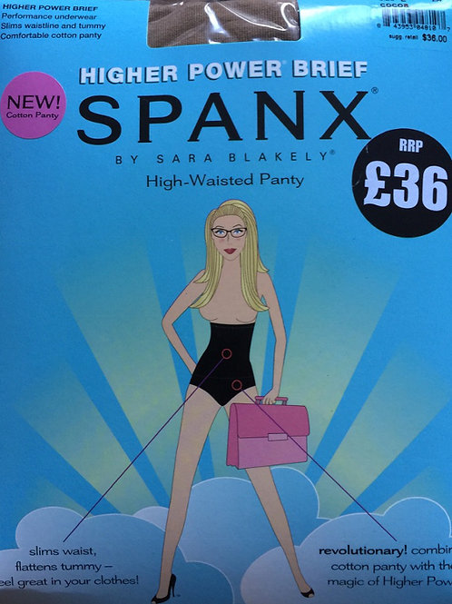 SPANX Higher Power Brief Flattens Tummy High - Waisted Panty