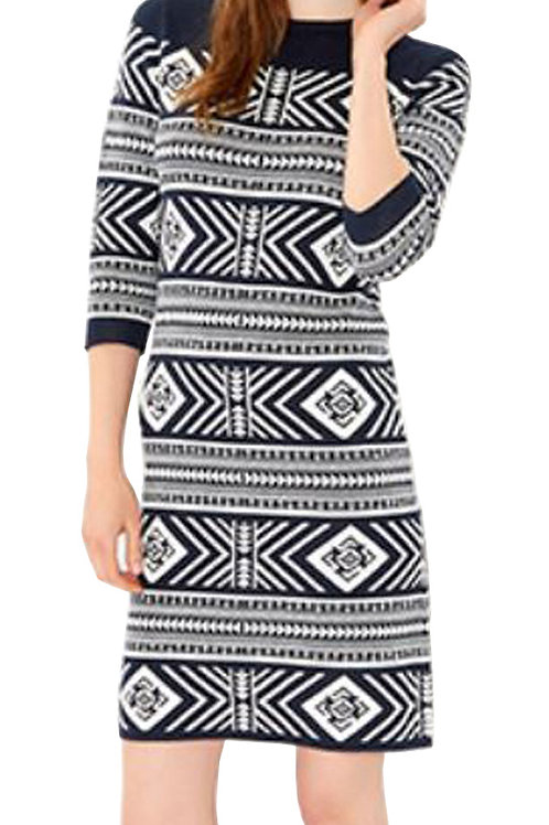 MONSOON Tallulah Tile Pattern Dress (RARE & COLLECTABLE)