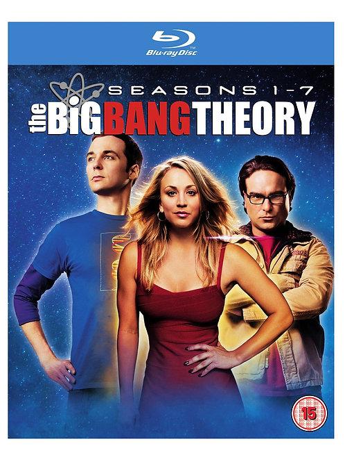 The Big Bang Theory - Season 1-7 [Blu-ray] [2014] [Region Free]