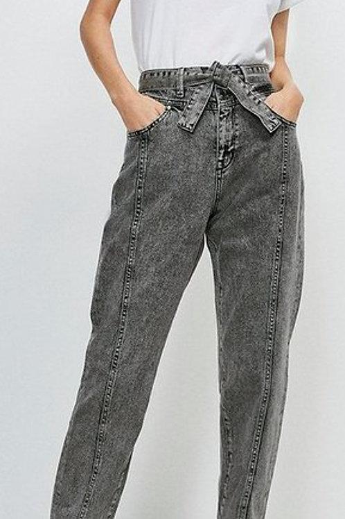 KAREN MILLEN Seamed Belted Jean(RARE & COLLECTABLE)
