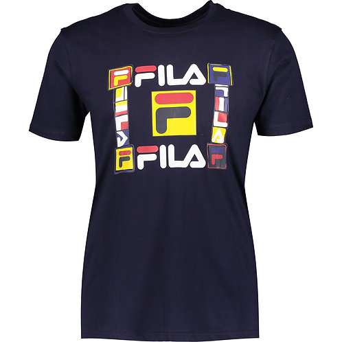 FILA Peacoat Graphic Printed T-Shirt (RARE & COLLECTABLE)