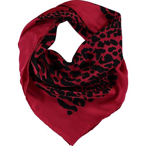 WOLFORD  Cheetah Pattern Neck Scarf 960 79