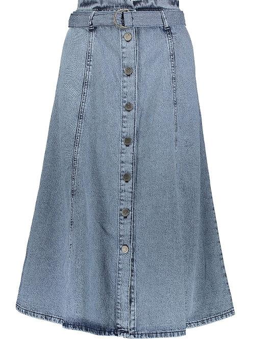 GESTUZ Piettagz Washed Denim Skirt(RARE & COLLECTABLE)