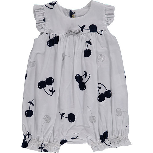 BERLINGOT Baby Cherry Print Tunic Overall (RARE & COLLECTABLE)