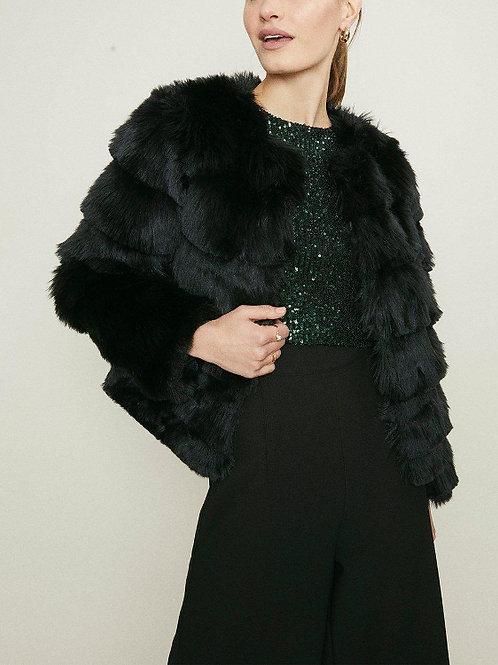 COAST Faux Fur Jacket(RARE & COLLECTABLE)