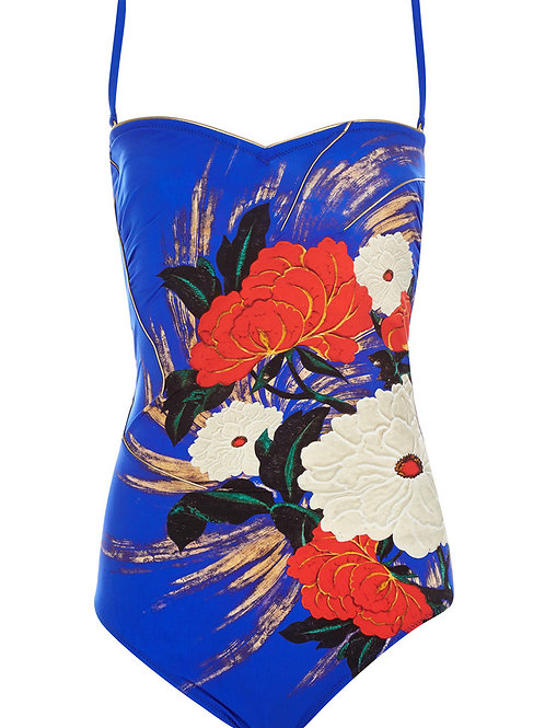 GOTTEX Collection Padded Mandarin Swimsuit 15MN-072R (RARE & COLLECTABLE)