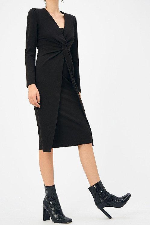 COAST Scuba Crepe Twist Midi Dress(RARE & COLLECTABLE)