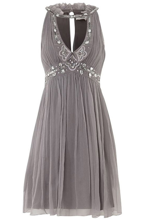 TEMPERLEY Embellished Silk Dress (RARE & COLLECTABLE)