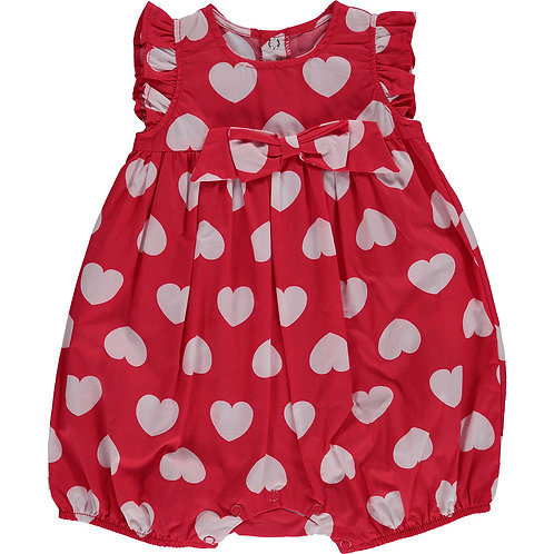 BERLINGOT Baby Heart Print Bodysuit (RARE & COLLECTABLE)