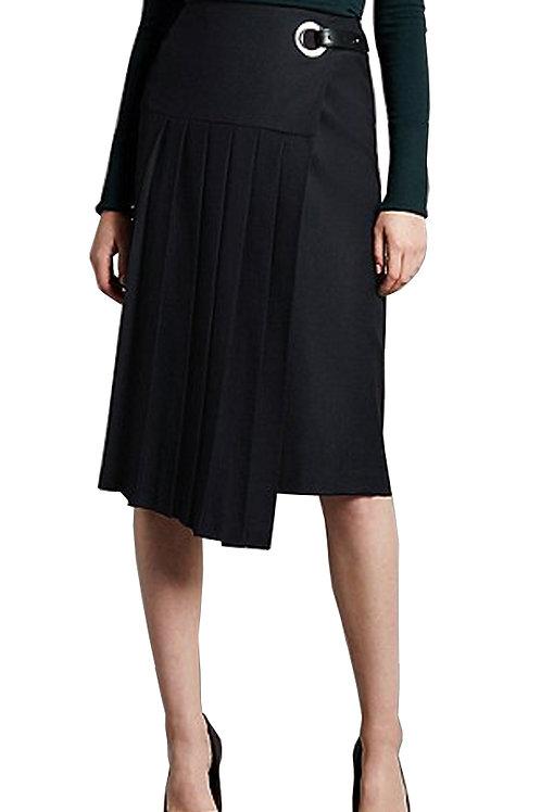 M&S Autograph Kilt Pleat A-Line Skirt with Wool T59/5002