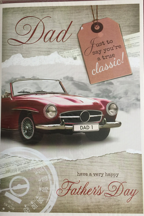 Father's Day Card Code L-44318