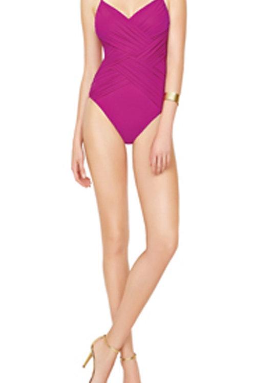 GOTTEX CONTOUR Lattice Wrap Swimsuit 17LA-136 (RARE & COLLECTABLE)