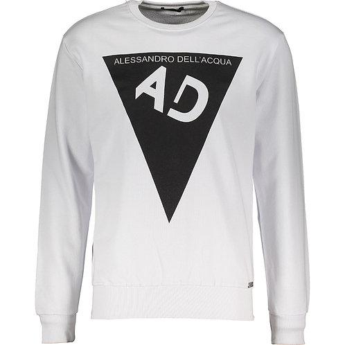 ALESSANDRO DELL'ACQUA Long Sleeve Sweatshirt (RARE & COLLECTABLE)