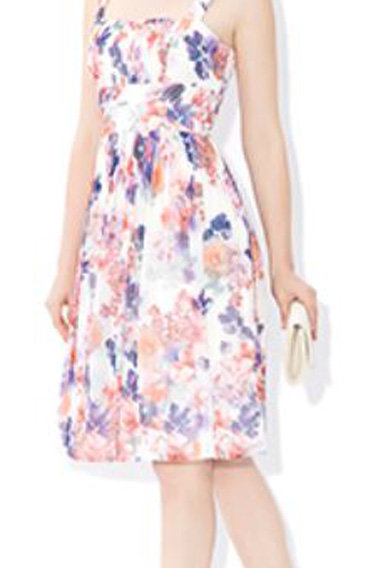 MONSOON Madeline Print Dress (RARE & COLLECTABLE)