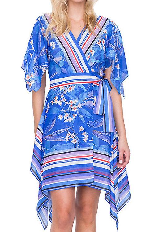 GOTTEX Sakura V Neck Surplice Beach Dress 19SA333 (RARE & COLLECTABLE)