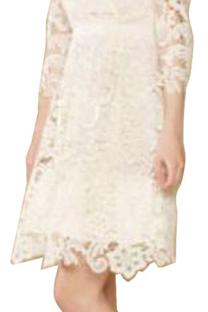 MONSOON Lolita Cream Lace Dress (RARE & COLLECTABLE)