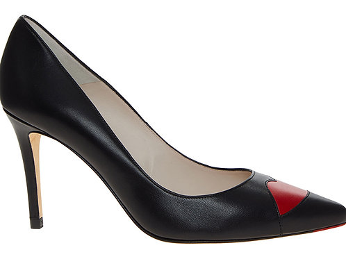 LULU GUINNESS Leather Babette Lips Heels(RARE & COLLECTABLE)
