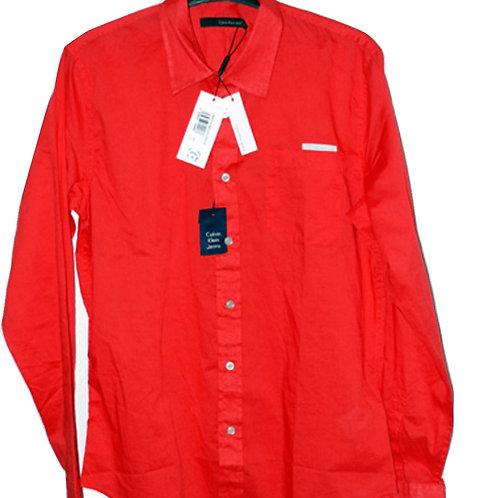 CALVIN KLEIN Gent's Red Shirt