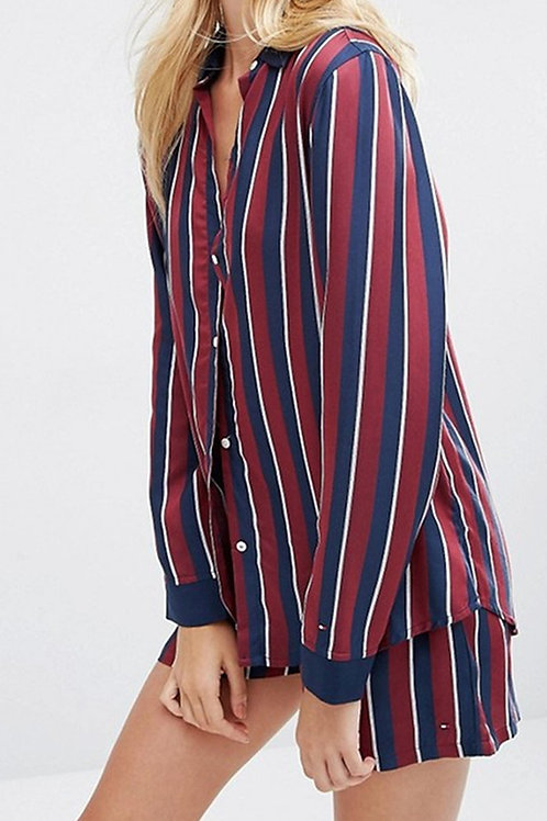 TOMMY HILFIGER Silky Woven Nightshirt(RARE & COLLECTABLE)